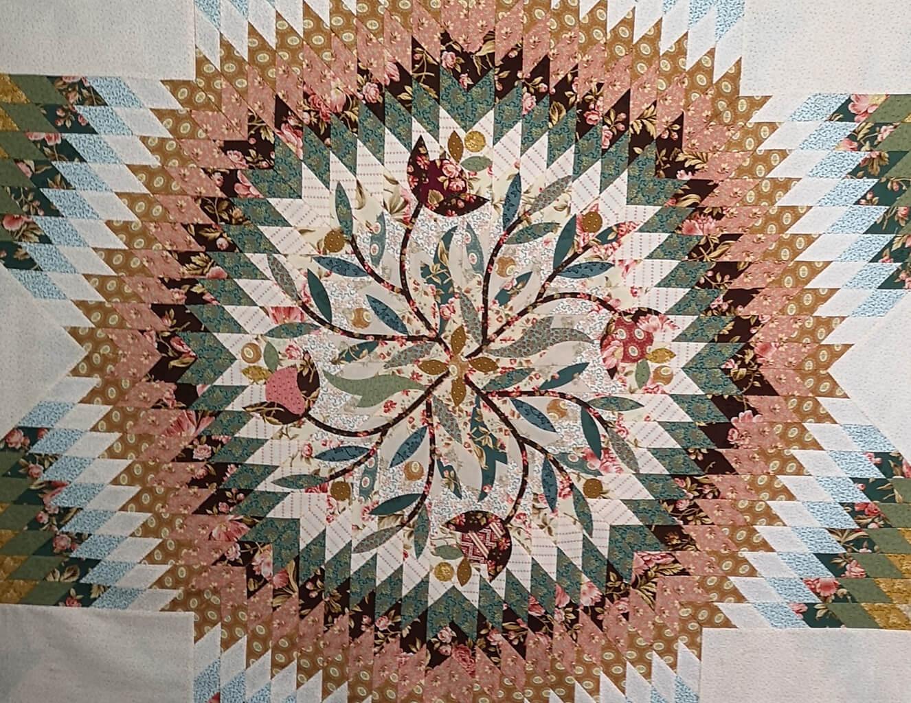 Patchwork, hálószoba dekoráció